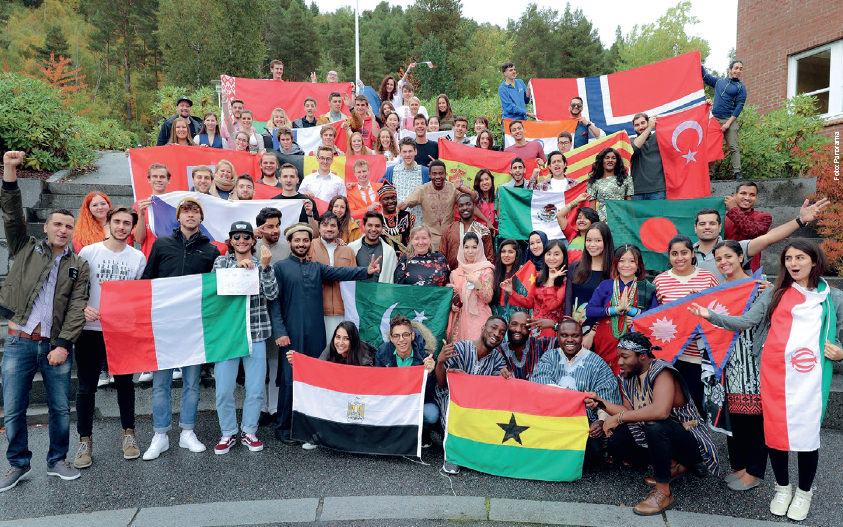 International Students at Molde Univeristy College
