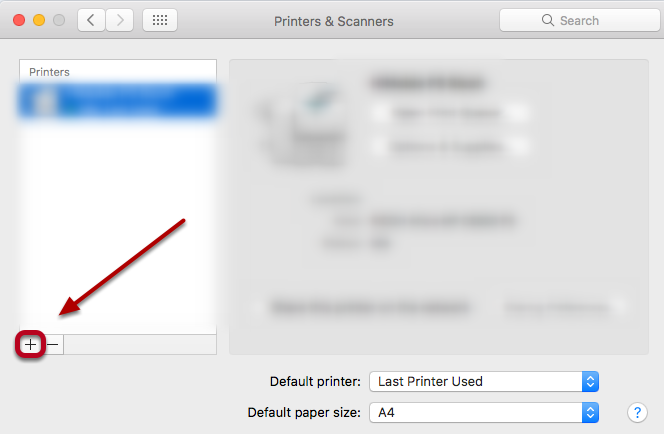 How to print from a Mac - English